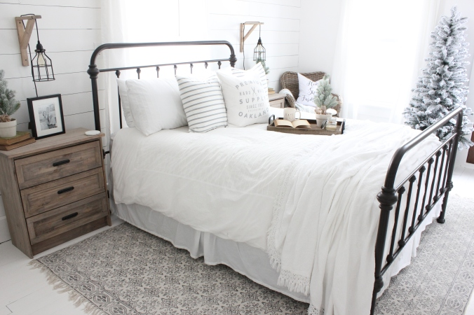 Farmhouse Winter Bedroom Decor Misdiy